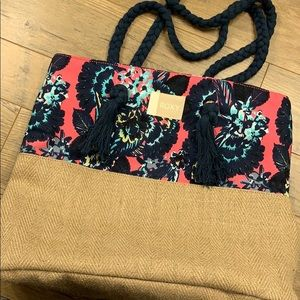 Brand New Roxy tote bag